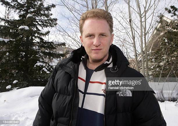 Michael Rapaport during 2006 Sundance Film Festival Michael Rapaport Outdoor Portraits in Park City Utah United States