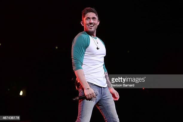 Michael Ray performs on stage during the 2015 NASH Bash presented by NASH FM 947 as part of Country in Brooklyn at Barclays Center on March 24 2015...
