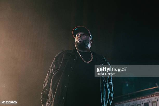 Michael Render aka Killer Mike of Run The Jewels performs at The Tabernacle on January 21 2017 in Atlanta Georgia