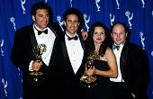 Michael Richards Jerry Seinfeld Julia LouisDreyfus and Jason Alexander