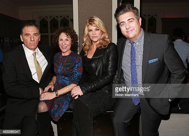 Michael Richards Rhea Perlman Kirstie Alley and Eric Petersen attend the 'Kirstie' premiere party at Harlow on December 3 2013 in New York City