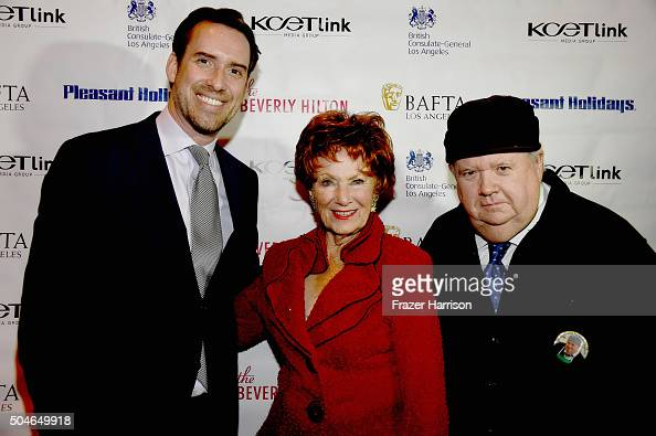 Michael Riley actress Marion Ross and actor Ian McNeice arrive at the Premiere Of KCET's 'Doc Martin' Season 7 at The British Residence on January 11...