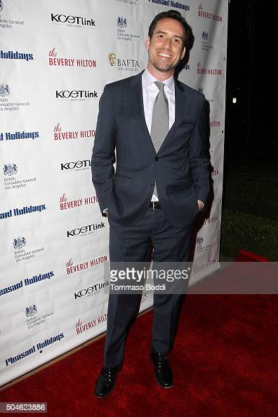 Michael Riley attends the premiere of KCET's 'Doc Martin' Season 7 held at The British Residence on January 11 2016 in Los Angeles California