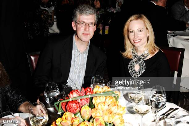 Michael Rockefeller and Gillian Miniter attend 'BURGUNDY BORDEAUX BLUE JEANS BLUES' A Casual Sunday Supper at DANIEL for the benefit of...