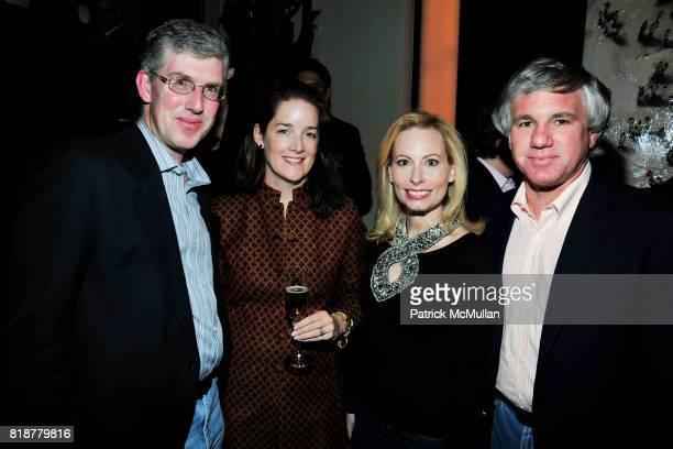 Michael Rockefeller Tara Rockefeller Gillian Miniter and Sylvester Miniter attend 'BURGUNDY BORDEAUX BLUE JEANS BLUES' A Casual Sunday Supper at...