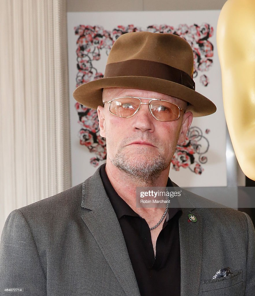 <a gi-track='captionPersonalityLinkClicked' href=/galleries/search?phrase=Michael+Rooker&family=editorial&specificpeople=640228 ng-click='$event.stopPropagation()'>Michael Rooker</a> attends 87th Annual Academy Awards Oscar Week Make Up And Hairstyling Symposium at Samuel Goldwyn Theater on February 21, 2015 in Beverly Hills, California.