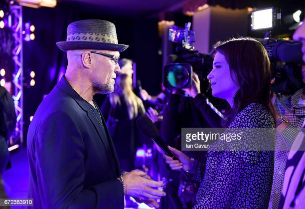 Michael Rooker attends the European launch event of Marvel Studios' 'Guardians of the Galaxy Vol 2' at the Eventim Apollo on April 24 2017 in London...