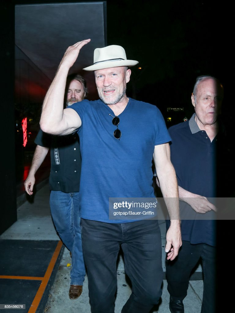 Michael Rooker is seen on AUGUST 18, 2017 in Los Angeles, California.