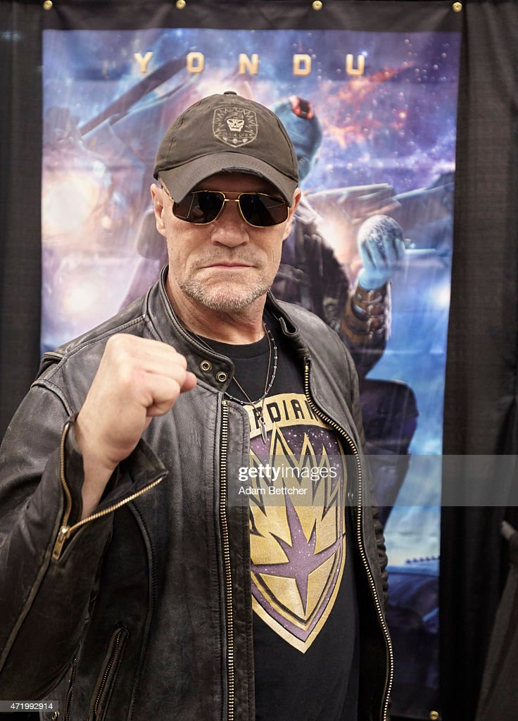 <a gi-track='captionPersonalityLinkClicked' href=/galleries/search?phrase=Michael+Rooker&family=editorial&specificpeople=640228 ng-click='$event.stopPropagation()'>Michael Rooker</a> poses for a portrait at the Wizard World Comic Con on May 2, 2015 in Minneapolis, Minnesota.