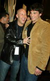 Michael Rosenbaum and Tom Welling 'Smallville' at 'The WB 2003 Winter TCA Tour Party' at Hollywood and Highland in Los Angeles Ca Saturday Jan 11...