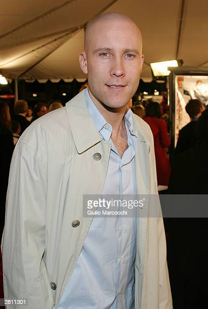 Michael Rosenbaum attends the Cheaper By The Dozen Premiere on December 14 2003 in Hollywood California