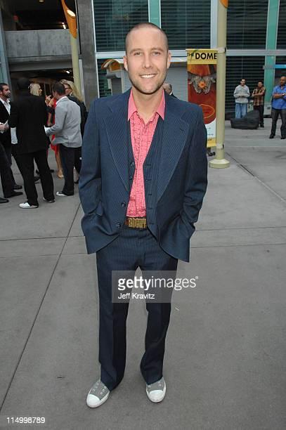 Michael Rosenbaum during 'Kickin' It Old Skool' Los Angeles Premiere Red Carpet at ArcLight in Los Angeles California United States