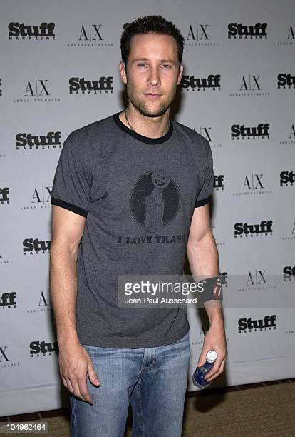 Michael Rosenbaum during Stuff Magazine Armani Exchange 'Beachdance' Party Arrivals at Astra West in West Hollywood California United States