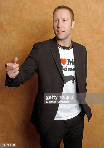 Michael Rosenbaum during The Lucky/Cargo Club An Upfront Week Hospitality Suite Portrait Studio Day 1 at Le Parker Meridien in New York City New York...