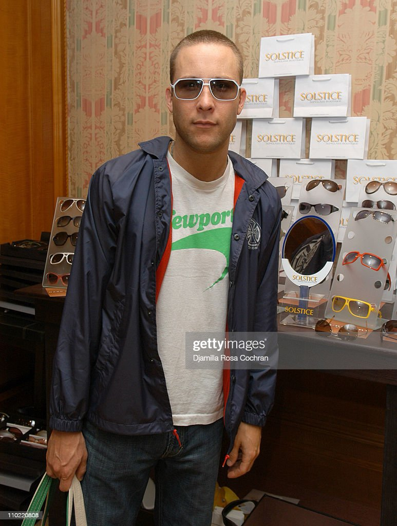 <a gi-track='captionPersonalityLinkClicked' href=/galleries/search?phrase=Michael+Rosenbaum&family=editorial&specificpeople=228344 ng-click='$event.stopPropagation()'>Michael Rosenbaum</a> wearing Dior 0056S Sunglasses during Solstice Sunglass Boutique at the Lucky/Cargo Club - Day 2 at Ritz Carlton in New York City, New York, United States.