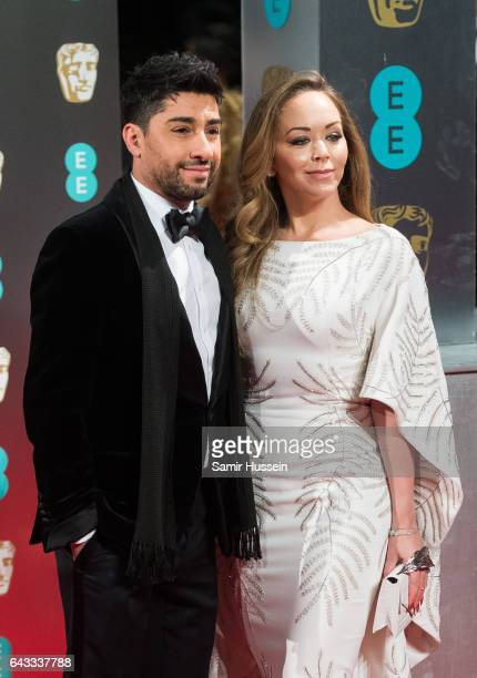Michael Russo and Tamara Ralph attend the 70th EE British Academy Film Awards at Royal Albert Hall on February 12 2017 in London England