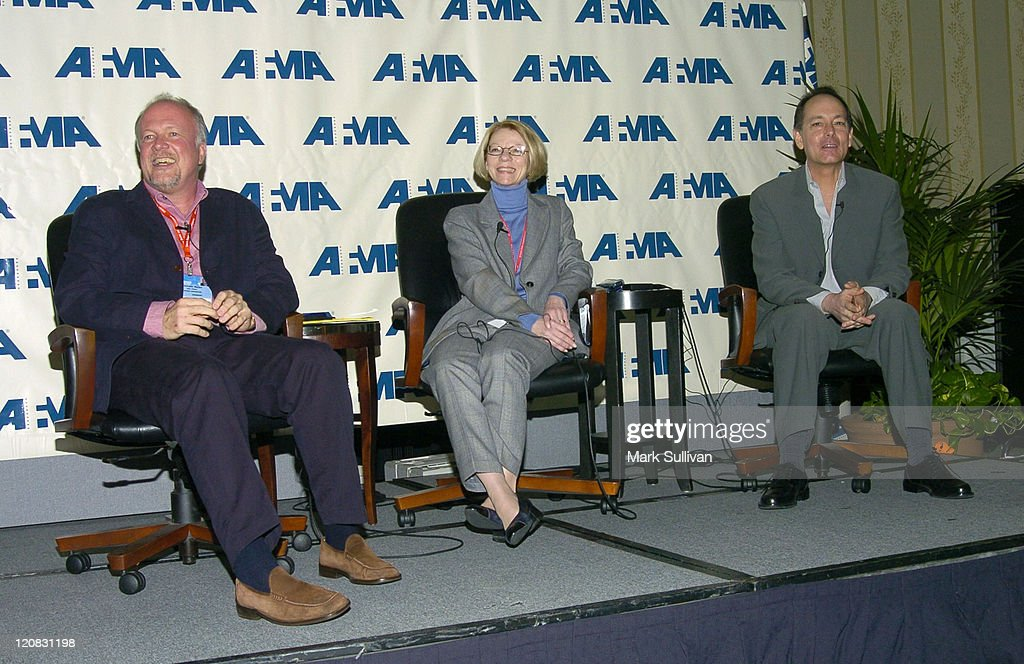 Michael Ryan chairman of AFMA Jean Prewitt president and CEO of AFMA and Jonathan Wolf executive vice president of AFMA