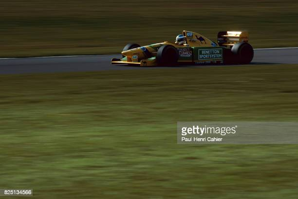 Michael Schumacher BenettonFord B193 Grand Prix of Europe Donington Park 11 April 1993