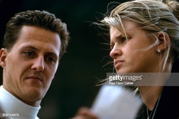 Michael Schumacher Corinna Schumacher Grand Prix of Japan Suzuka 12 October 1997