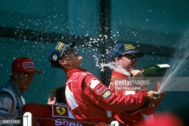 Michael Schumacher Eddie Irvine Grand Prix of France Circuit de Nevers MagnyCours 28 June 1998