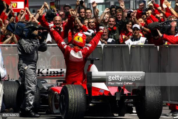 Michael Schumacher Ferrari F2002 Grand Prix of France Circuit de Nevers MagnyCours 21 July 2002