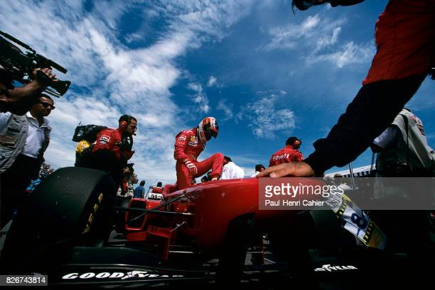 Michael Schumacher Ferrari F310 Grand Prix of Canada Circuit Gilles Villeneuve 16 June 1996