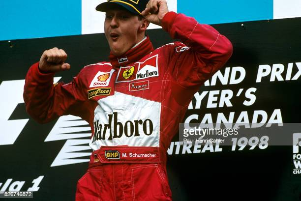 Michael Schumacher Grand Prix of Canada Circuit Gilles Villeneuve 07 June 1998