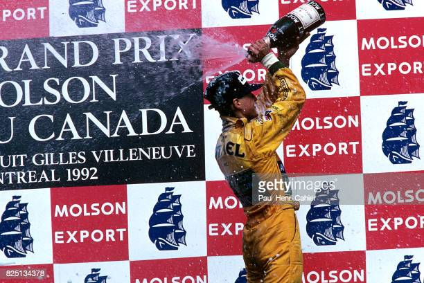 Michael Schumacher Grand Prix of Canada Circuit Gilles Villeneuve 14 June 1992
