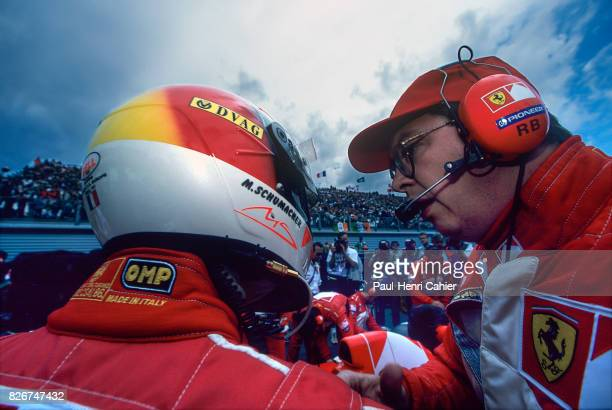 Michael Schumacher Ross Brawn Grand Prix of France Circuit de Nevers MagnyCours 29 June 1997