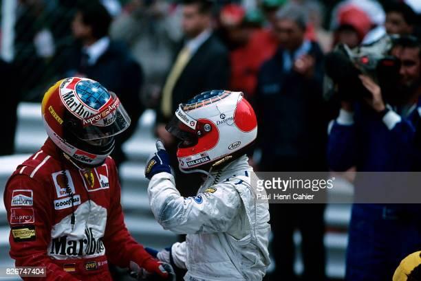 Michael Schumacher Rubens Barrichello Grand Prix of Monaco Monaco 11 May 1997