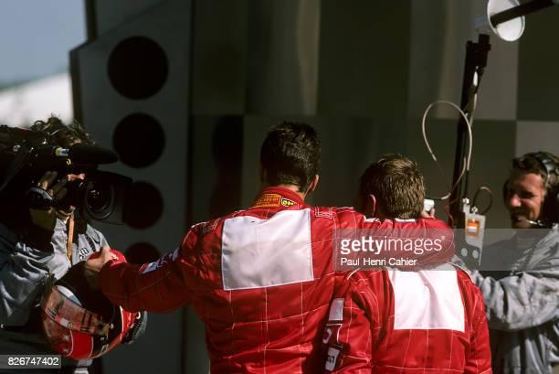Michael Schumacher Rubens Barrichello Grand Prix of the United States Indianapolis Motor Speedway 29 September 2002