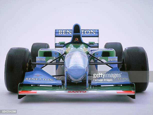 Michael Schumacher's 1993 Benetton B193B 2000
