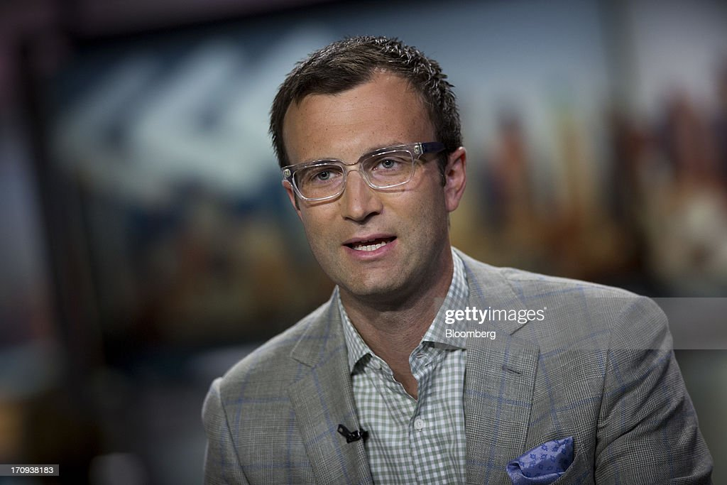 Michael Scissons, chief executive officer of Syncapse Corp., speaks during a Bloomberg Television interview in New York, U.S., on Thursday, June 20, 2013. Scissons spoke about Facebook Inc., operator of the largest social network, adding video to its Instagram photo-sharing service. Photographer: Scott Eells/Bloomberg via Getty Images