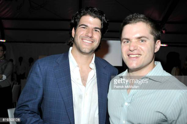 Michael Sery and Larry Cohen attend PARRISH ART MUSEUM Midsummer Party Honoring BETH RUDIN DEWOODY and ROSS BLECKNER at Parrish Art Museum on July 10...