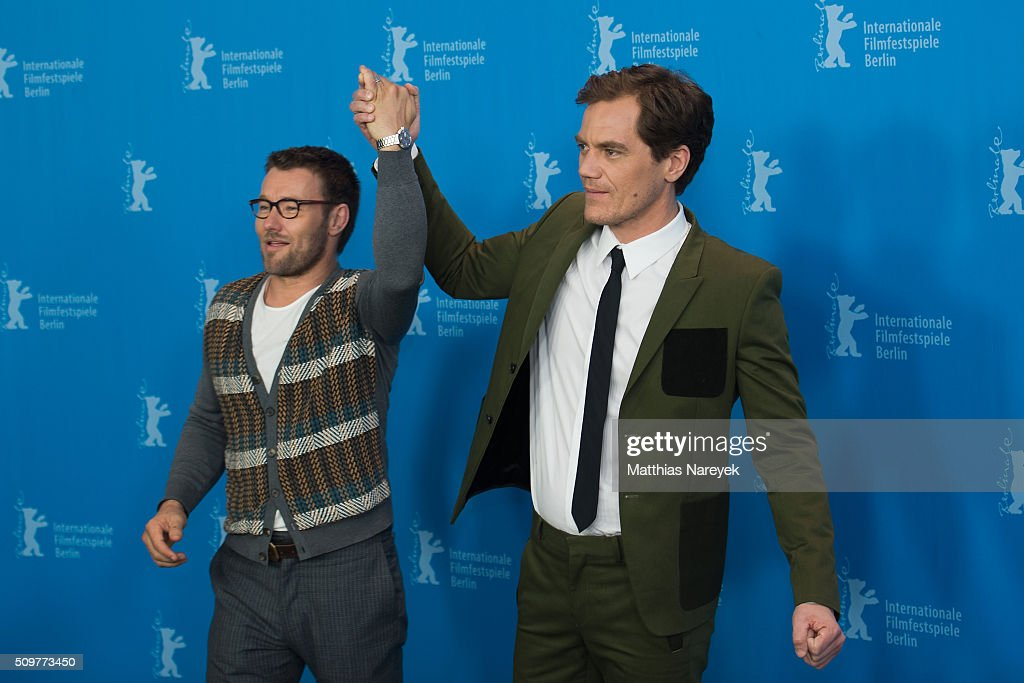 <a gi-track='captionPersonalityLinkClicked' href=/galleries/search?phrase=Michael+Shannon&family=editorial&specificpeople=660513 ng-click='$event.stopPropagation()'>Michael Shannon</a> and <a gi-track='captionPersonalityLinkClicked' href=/galleries/search?phrase=Joel+Edgerton&family=editorial&specificpeople=211291 ng-click='$event.stopPropagation()'>Joel Edgerton</a> attend the 'Midnight Special' photo call during the 66th Berlinale International Film Festival Berlin at Grand Hyatt Hotel on February 12, 2016 in Berlin, Germany.