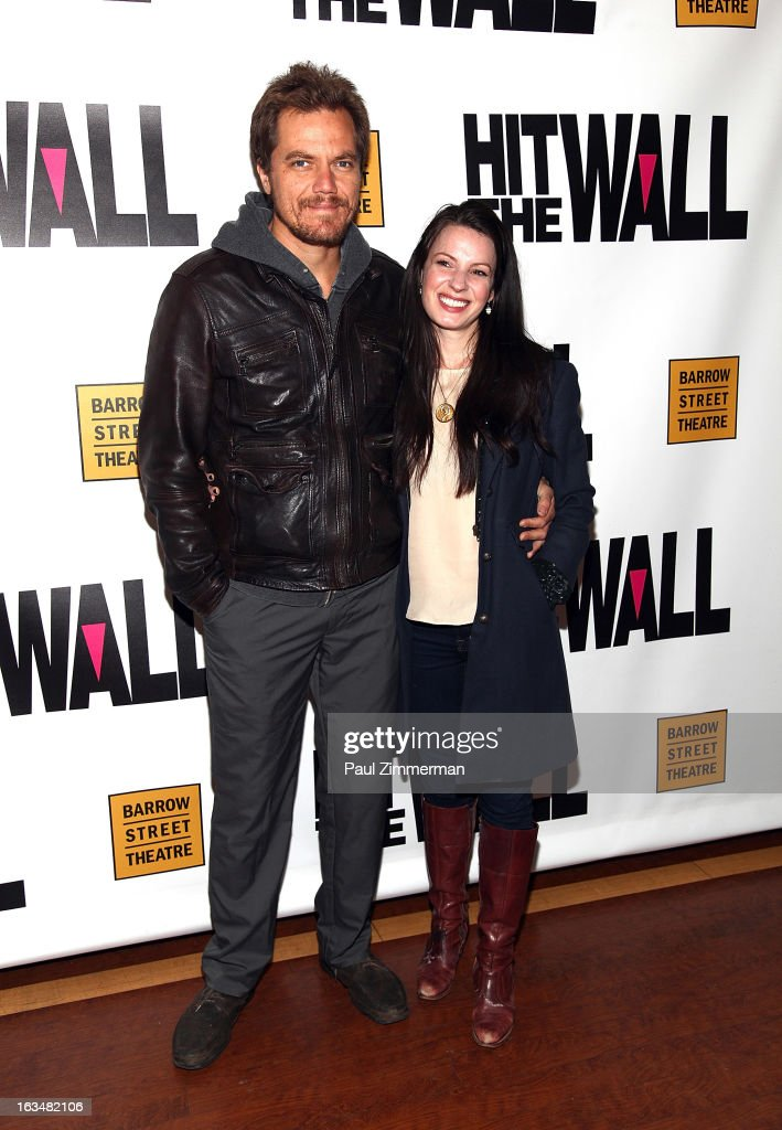 <a gi-track='captionPersonalityLinkClicked' href=/galleries/search?phrase=Michael+Shannon&family=editorial&specificpeople=660513 ng-click='$event.stopPropagation()'>Michael Shannon</a> and <a gi-track='captionPersonalityLinkClicked' href=/galleries/search?phrase=Kate+Arrington&family=editorial&specificpeople=7237784 ng-click='$event.stopPropagation()'>Kate Arrington</a> attend the 'Hit The Wall' Off Broadway opening night at the Barrow Street Theatre on March 10, 2013 in New York City.