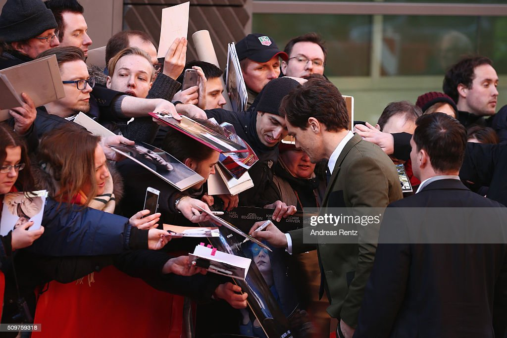 Michael Shannon arrives for the 'Midnight Special' photo call during the 66th Berlinale International Film Festival Berlin at Grand Hyatt Hotel on February 12, 2016 in Berlin, Germany.
