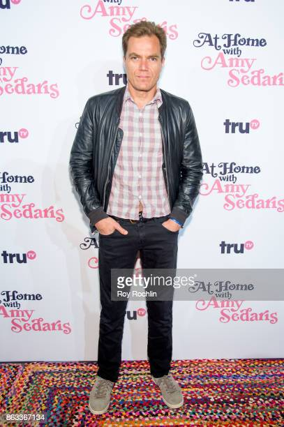 Michael Shannon attends 'At Home With Amy Sedaris' New York Screening at The Bowery Hotel on October 19 2017 in New York City