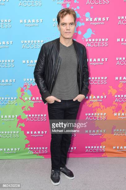 Michael Shannon attends Hearst Magazines' Unbound Access MagFront at Hearst Tower on October 17 2017 in New York City