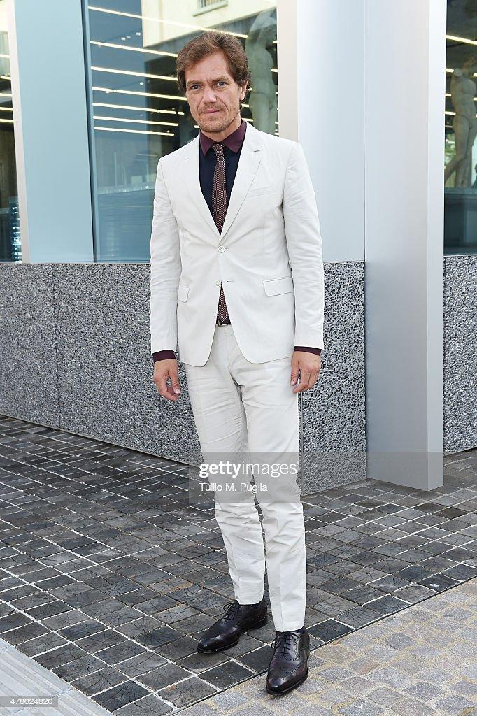 Michael Shannon attends Prada Menswear Spring/Summer 2016 Cocktail Party at Fondazione Prada at Fondazione Prada on June 21 2015 in Milan Italy