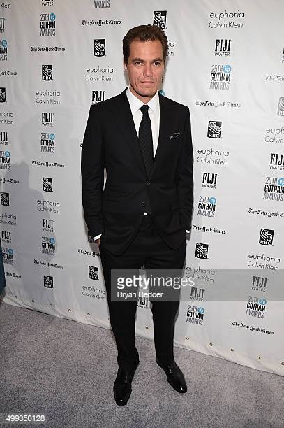Michael Shannon attends the 25th IFP Gotham Independent Film Awards cosponsored by FIJI Water on November 30 2015 in New York City