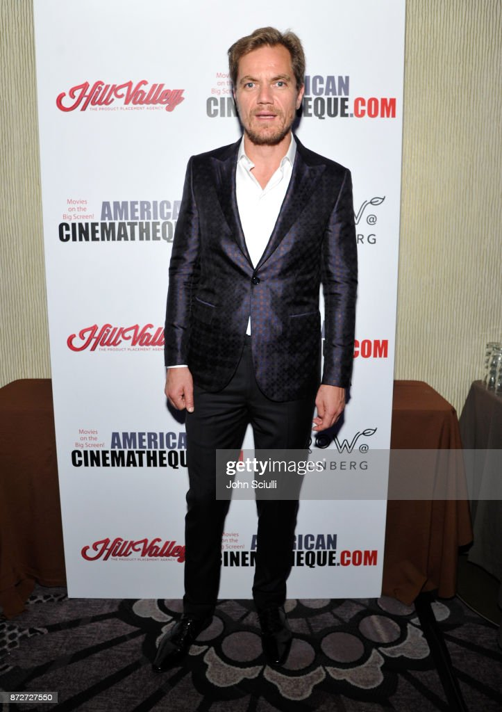 Michael Shannon attends the 31st American Cinematheque Award Presentation Honoring Amy Adams Presented by GRoW @ Annenberg. Presentation of The 3rd Annual Sid Grauman Award Sponsored by Hill Valley, presented to Richard Gelfond and Greg Foster on behalf of IMAX at The Beverly Hilton Hotel on November 10, 2017 in Beverly Hills, California.