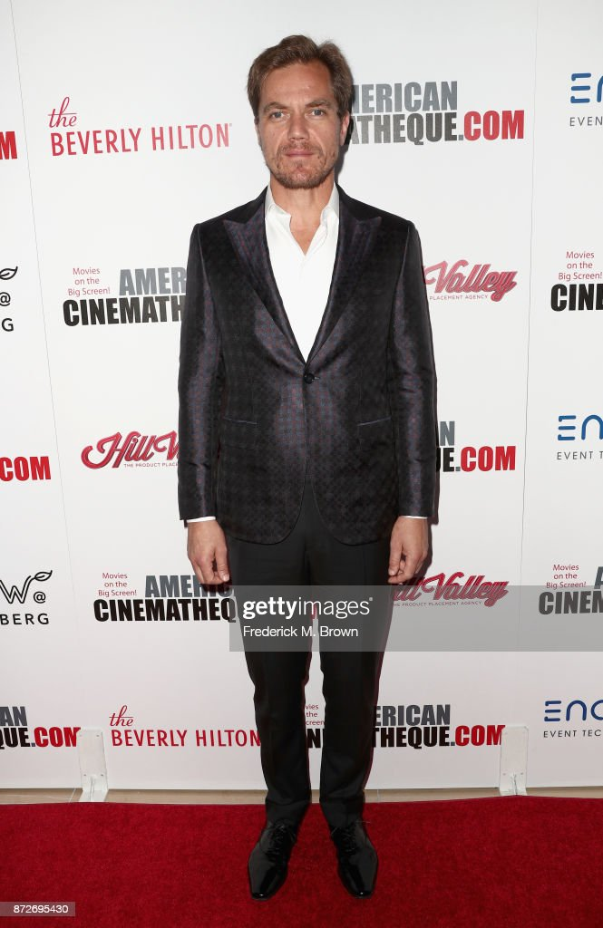 Michael Shannon attends the 31st Annual American Cinematheque Awards Gala at The Beverly Hilton Hotel on November 10, 2017 in Beverly Hills, California.