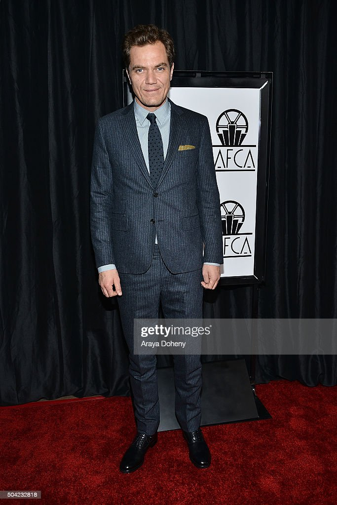 Michael Shannon attends the 40th Annual Los Angeles Film Critics Association Awards at InterContinental Hotel on January 9 2016 in Century City...