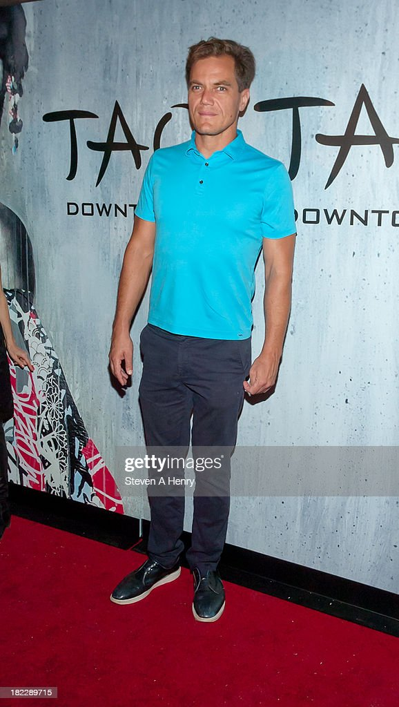 <a gi-track='captionPersonalityLinkClicked' href=/galleries/search?phrase=Michael+Shannon&family=editorial&specificpeople=660513 ng-click='$event.stopPropagation()'>Michael Shannon</a> attends the grand opening of TAO Downtown on September 28, 2013 in New York City.