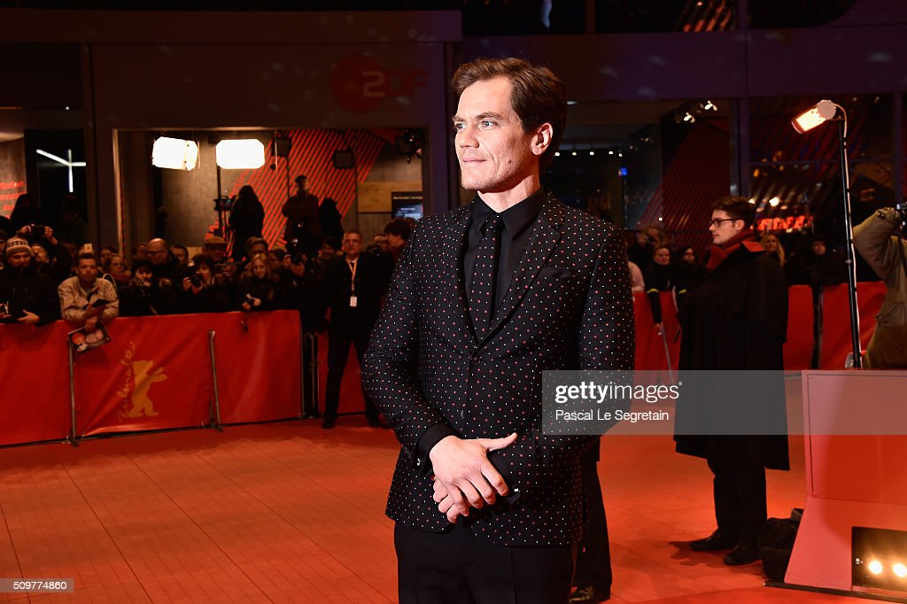 <a gi-track='captionPersonalityLinkClicked' href=/galleries/search?phrase=Michael+Shannon&family=editorial&specificpeople=660513 ng-click='$event.stopPropagation()'>Michael Shannon</a> attends the 'Midnight Special' premiere during the 66th Berlinale International Film Festival Berlin at Berlinale Palace on February 12, 2016 in Berlin, Germany.