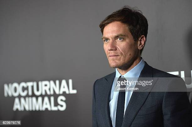 Michael Shannon attends the New York Premiere of Tom Ford's 'Nocturnal Animals' at The Paris Theatre on November 17 2016 in New York City