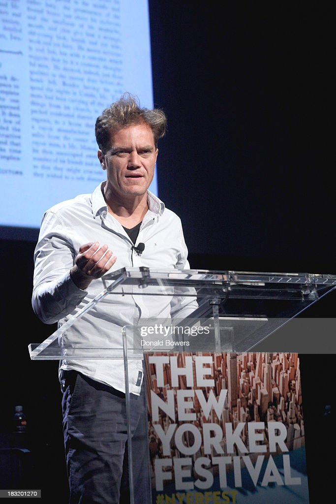 Michael Shannon attends The New Yorker Festival 2013 - An Evening With Funny Or Die Hosted By Billy Eichner at Acura at SIR Stage37 on October 5, 2013 in New York City.