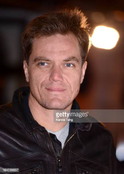 Michael Shannon attends the press night for 'The Book of Mormon' at Prince Of Wales Theatre on March 21 2013 in London England
