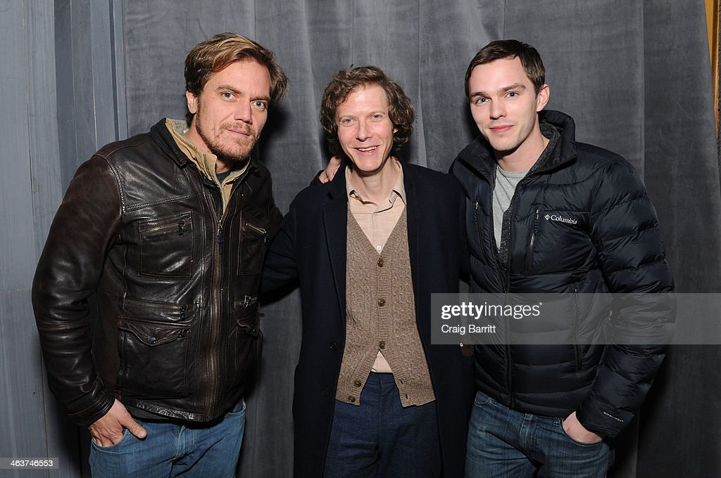 <a gi-track='captionPersonalityLinkClicked' href=/galleries/search?phrase=Michael+Shannon&family=editorial&specificpeople=660513 ng-click='$event.stopPropagation()'>Michael Shannon</a>, <a gi-track='captionPersonalityLinkClicked' href=/galleries/search?phrase=Jake+Paltrow&family=editorial&specificpeople=768540 ng-click='$event.stopPropagation()'>Jake Paltrow</a> and <a gi-track='captionPersonalityLinkClicked' href=/galleries/search?phrase=Nicholas+Hoult&family=editorial&specificpeople=598892 ng-click='$event.stopPropagation()'>Nicholas Hoult</a> attend the 'Young Ones' Dinner And Party hosted by The Snow Lodge x Eveleigh on January 18, 2014 in Park City, Utah.